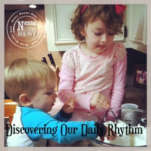 Discovering Our Daily Rhythm